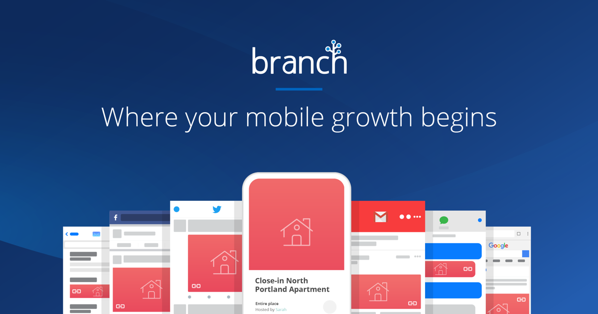 Branch - A mobile linking platform powering deep links and mobile